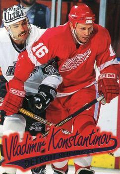 1996-97 Ultra #51 Vladimir Konstantinov Front
