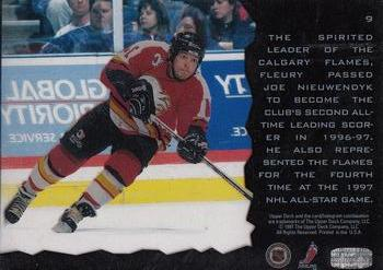 1996-97 Upper Deck Ice #9 Theo Fleury Back