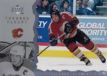 1996-97 Upper Deck Ice #9 Theo Fleury Front