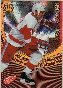 1997-98 Pacific Crown - Card-Supials #8 Steve Yzerman Front