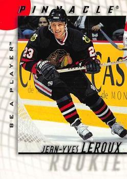 1997-98 Pinnacle Be a Player #45 Jean-Yves Leroux Front