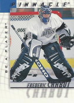 1997-98 Pinnacle Be a Player #169 Frederic Chabot Front