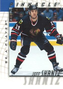 1997-98 Pinnacle Be a Player #173 Jeff Shantz Front