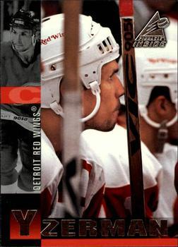 1997-98 Pinnacle Inside #24 Steve Yzerman Front