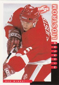 1997-98 Score #182 Nicklas Lidstrom Front
