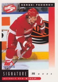1997-98 Score #264 Sergei Fedorov Front