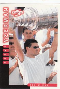 1997-98 Score #86 Steve Yzerman Front