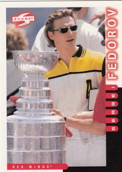 1997-98 Score #91 Sergei Fedorov Front