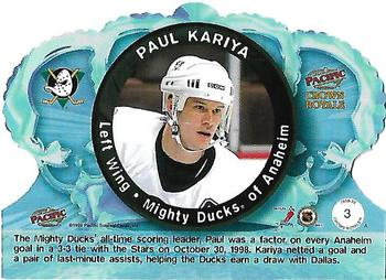 1998-99 Pacific Crown Royale #3 Paul Kariya Back
