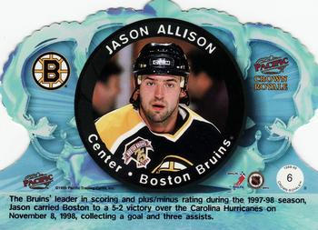 1998-99 Pacific Crown Royale #6 Jason Allison Back