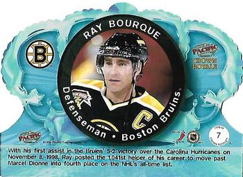1998-99 Pacific Crown Royale #7 Ray Bourque Back