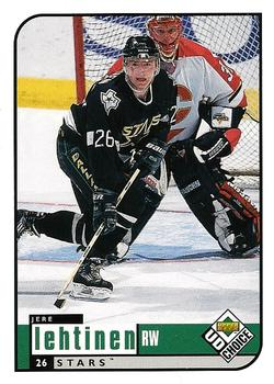 1998-99 UD Choice #68 Jere Lehtinen Front