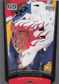 1998-99 Upper Deck #100 Kevin Weekes Front