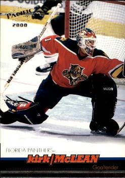 1999-00 Pacific #177 Kirk McLean Front