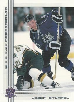2000-01 Be a Player Memorabilia #168 Jozef Stumpel Front