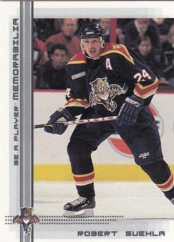 2000-01 Be a Player Memorabilia #208 Robert Svehla Front