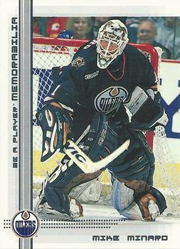 2000-01 Be a Player Memorabilia #21 Mike Minard Front
