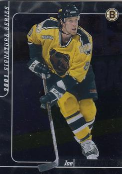 2000-01 Be a Player Signature Series #36 Joe Thornton Front