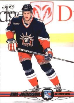 2000-01 Pacific #263 Kim Johnsson Front