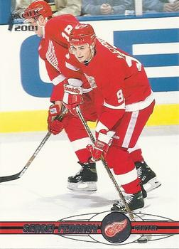 2000-01 Pacific #147 Sergei Fedorov Front