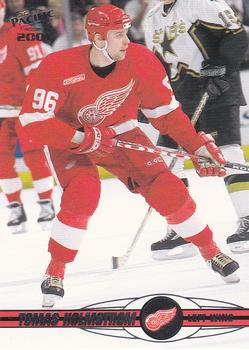 2000-01 Pacific #148 Tomas Holmstrom Front
