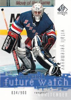2000-01 SP Authentic #153 Vitali Yeremeyev Front