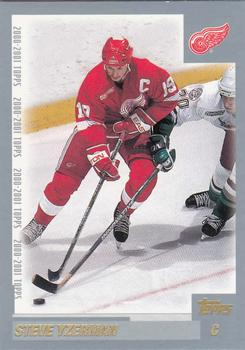 2000-01 Topps #22 Steve Yzerman Front