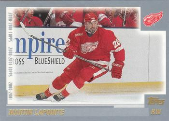 2000-01 Topps #243 Martin Lapointe Front