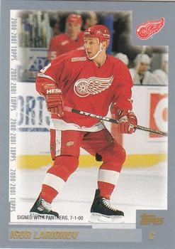 2000-01 Topps #257 Igor Larionov Front
