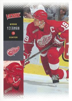 2000-01 Upper Deck Victory #83 Steve Yzerman Front