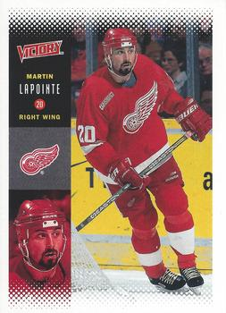 2000-01 Upper Deck Victory #91 Martin Lapointe Front