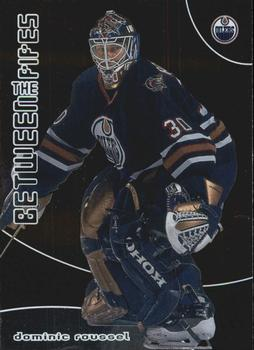 2001-02 Be a Player Between the Pipes #75 Dominic Roussel Front