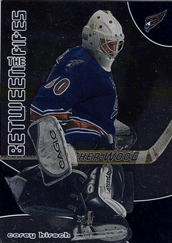 2001-02 Be a Player Between the Pipes #76 Corey Hirsch Front