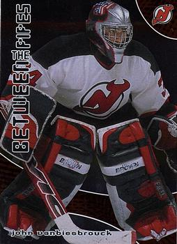 2001-02 Be a Player Between the Pipes #153 John Vanbiesbrouck Front
