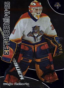 2001-02 Be a Player Between the Pipes #154 Wade Flaherty Front