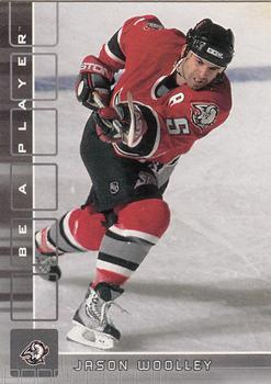 2001-02 Be a Player Memorabilia #126 Jason Woolley Front