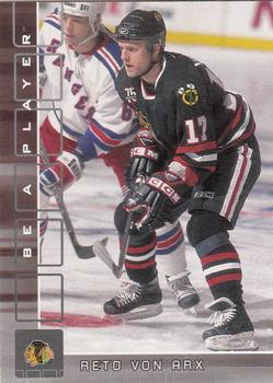 2001-02 Be a Player Memorabilia #215 Reto Von Arx Front