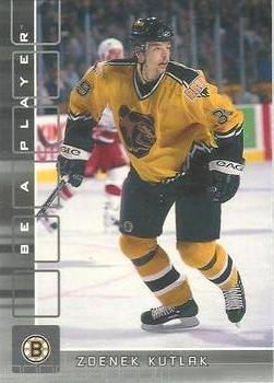2001-02 Be a Player Memorabilia #344 Zdenek Kutlak Front