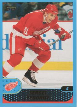 2001-02 Topps #53 Sergei Fedorov Front