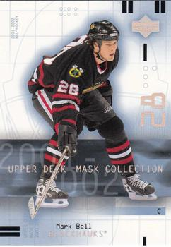2001-02 Upper Deck Mask Collection #18 Mark Bell Front