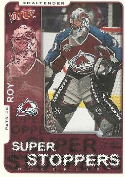 2001-02 Upper Deck Victory #83 Patrick Roy Front
