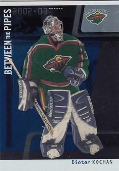 2002-03 Be a Player Between the Pipes #48 Dieter Kochan Front