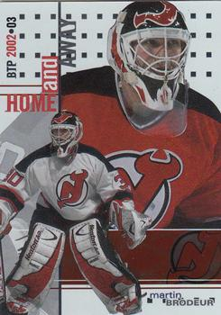 2002-03 Be a Player Between the Pipes #138 Martin Brodeur Front
