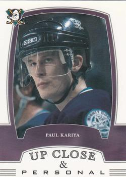 2002-03 Be a Player First Edition #316 Paul Kariya Front