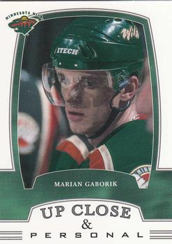 2002-03 Be a Player First Edition #320 Marian Gaborik Front