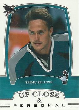 2002-03 Be a Player First Edition #306 Teemu Selanne Front