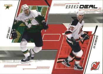 2002-03 Be a Player Memorabilia #257 Jason Arnott / Joe Nieuwendyk Front