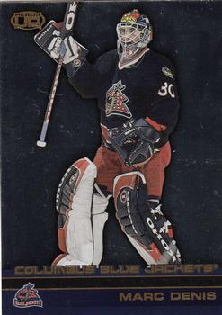 14f6fa6fe 2002-03 Pacific Heads Up  34 Marc Denis