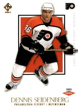 2002-03 Pacific Private Stock Reserve #175 Dennis Seidenberg Front