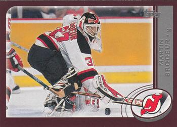 2002-03 Topps #3 Martin Brodeur Front